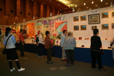 社会福祉法人 熊谷福祉会 はなぶさ苑における アート展